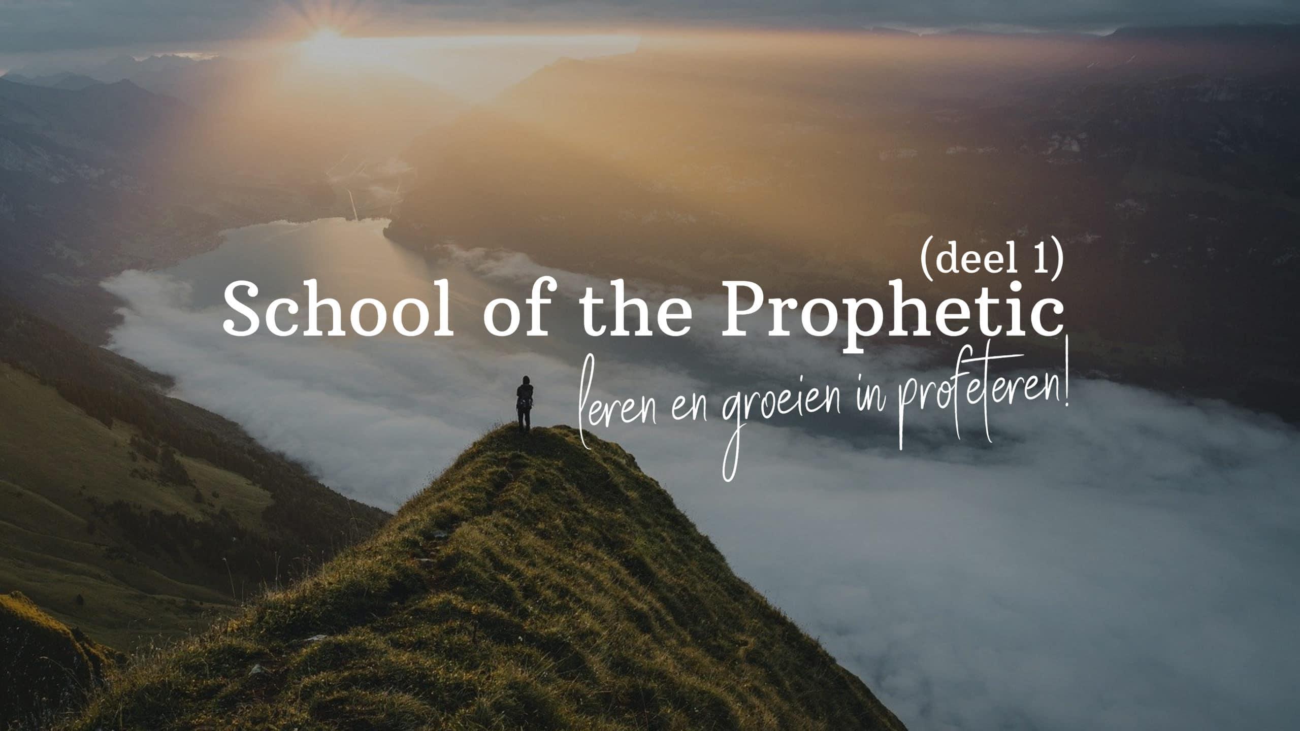 Profetische training (Deel1)